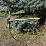 Tuktu EX Static tip recurve at draw.