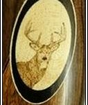 deer woodburning image