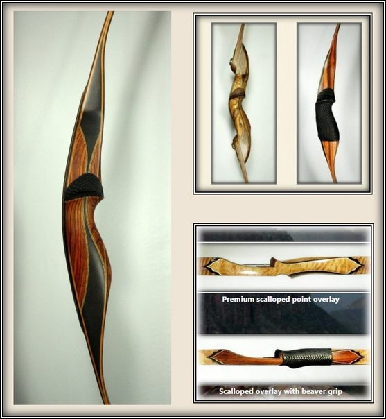 Custom Longbows & Recurve Bows From Cari-bow  3D or Hunting